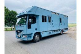Iveco 110E18 'OLYMPIC' Horsebox 2001 - 6 Speed - Fits 4/6 Forward Facing Horses