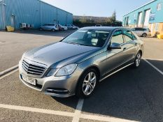 (RESERVE MET) Mercedes E220 CDI Executive Special Equipment Automatic - 2012 12 Reg - Black Leather
