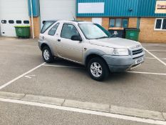 (RESERVE MET)Land Rover Freelander 2.0 TD4 S Auto - 2001 Reg - Tow Pack - Spare Wheel - Winter Ready