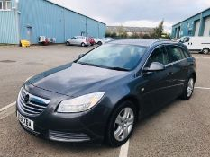(RESERVE MET) Vauxhall Insignia 2.0 CDTI Exclusive Estate - 2012 Model - 1 Keeper From New