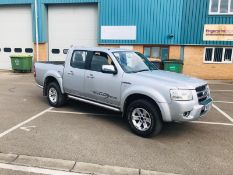 (RESERVE MET) Ford Ranger 2.5 Tdci Thunder 57 Reg 2008 Model - Air Con - Top Spec - 4x4 - No Vat