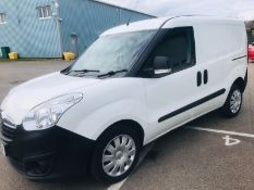 (RESERVE MET) Vauxhall Combo 2300 1.2 CDTI Crew Van (5 Seats) 2018 Model - Euro 6b