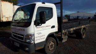 (RESERVE MET) Mitsubishi Canter 7C15 3.0 TD Tipper Truck - 2013 Model - 7.5 Tonne