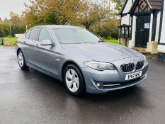 BMW 520D Efficient dynamics 180 Bhp 2012 - 12 (Reg) -Sat Nav -Metallic Grey -Air Con-No Vat Save 20%