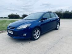 (RESERVE MET) Ford Focus Zetec 1.6 TDCI Econetic - 2015 Model - 6 Speed - Air con - Alloys - NO VAT