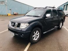 (RESERVE MET) Nissan Navara 2.5 DCI Tekna Double Cab Auto - 2010 Model - 1 Keeper From New -