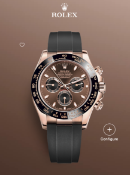 Rolex Daytona 18ct Everose Gold, Chocolate & Black Dial, 116515LN, BRAND NEW,