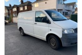 Volkswagen Transporter T28 1.9 TDI Panel Van - 2005 Model
