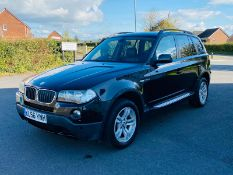 (RESERVE MET) BMW X3 2.0 D SE (Special Equipment) 150 Bhp 56 Reg 2007 Model - Metallic Black -