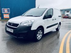 (RESERVE MET) Peugeot Partner 1.6 HDI Professional - 2018 Model - Sat Nav - Air Con - 1 Owner
