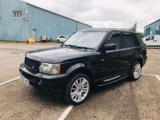 (RESERVE MET) Range Rover Sport 3.6 TDV8 HSE - 2007 07 Reg - Cream Leather - Service History -