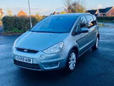 (RESERVE MET)Ford S-Max 2.2 Tdci Titanium 2010 Model - 7 Seats - Sat Nav - Air Con - Full Spec -