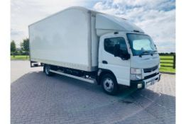 (RESERVE MET) Mitsubishi Canter 7C15 47 3.0 TD - 7.5 Tonne Box Body - 2017 Model -Tail Lift - Euro 6