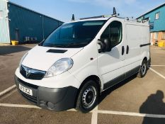 (RESERVE MET)Vauxhall Vivaro 2700 2.0 CDTI Crew Van - 2013 13 Reg -1 Keeper From New - Air ConNO VAT