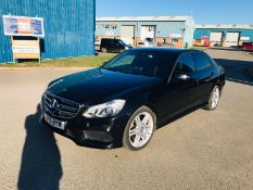 Mercedes-benz E class E220 Bluetec AMG Night Edition 7G-tronic - 2015 15 Reg