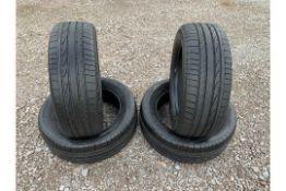 (RESERVE MET) Bridgestone Dueler H/P Sport 255/55R19 111H 4x4 Tyres (X4 TYRES) - (BRAND NEW)