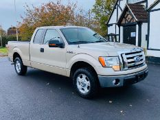 (RESERVE MET) Ford F-150 XLT 4.6L V8 Supercab - 2010 Year - 6 Seats - Fresh Imports
