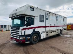 Scania 94D 260 'George Smith Built' Horsebox 2000 Reg - TOP SPEC