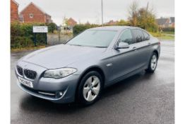 (RESERVE MET) BMW 520D Efficient dynamics 180 Bhp 2012 - 12 (Reg) -Sat Nav -Metallic Grey -AC-No Vat