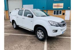 Isuzu D-Max Eiger 2.5 TD Double Cab Pick Up - 2015 15 Reg - Air Con - Tow Pack - 4X4