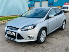 (RESERVE MET) Ford Focus 1.0 EcoBoost 1.0 ZETEC 2014 14 Reg - Air con - very economical-