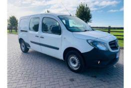 (Reserve Met)Mercedes Citan 1.5 109 CDI Dualiner Crew Van (5 Seats) - 2017 Model- XLWB