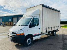 Renault Trucks Master 2.5 DCI Curtainsider 2009-09 Reg LWB - SAVE 20% NO VAT.