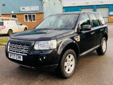 Land Rover Freelander 2 GS TD4 2007 -07 Reg - Air Con - Metallic Black - No Vat Save 20%