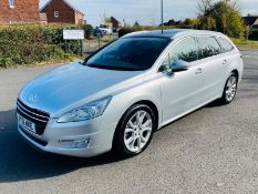 (RESERVE MET) PEUGEOT 508 2.0 HDI 163BHP Estate Allure - 2012 Model - Panoramic Glass Roof - Air Con