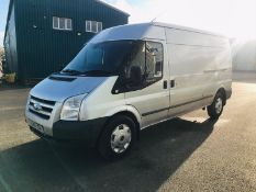 (RESERVE MET) Ford Transit 2.4 TDCI T350L 2011 Long Wheel Base Model- Air Con- NO VAT SAVE 20%