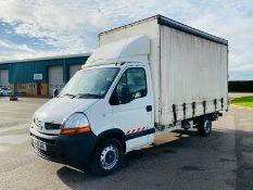 (RESERVE MET) Renault Trucks Master 2.5 DCI Curtainsider 2009-09 Reg LWB - SAVE 20% NO VAT.