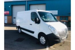 (RESERVE MET) Vauxhall Movano F2800 2.3 CDTI - 2017 17 Reg - Air Con - 1 Keeper From New