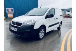 (Reserve Met) Peugeot Partner 1.6 HDI Professional - 2018 Model - Sat Nav - Air Con - 1 Owner
