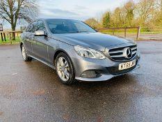 Mercedes E220 Special Equipment Auto - 2016 Reg - Black Leather - Sat Nav