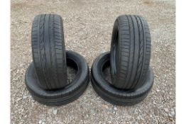 Bridgestone Dueler H/P Sport 255/55R19 111H 4x4 Tyres (X4 TYRES) - (BRAND NEW)