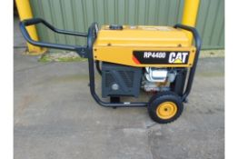 UNISSUED Caterpillar RP4400 Industrial Petrol Generator Set