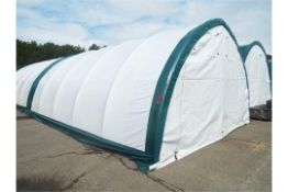 Heavy Duty Peak Storage Shelter 20'W x 30'L x 12' H P/No 203012QX-8P