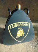 Reproduction Lamborghini Branded Oil Can