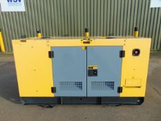 UNISSUED WITH TEST HOURS ONLY 25 KVA 3 Phase Silent Diesel Generator Set