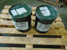 Qty 2 x 12.5Kg G-366/XG-284 Oscillating Bearing Grease direct from reserve stores
