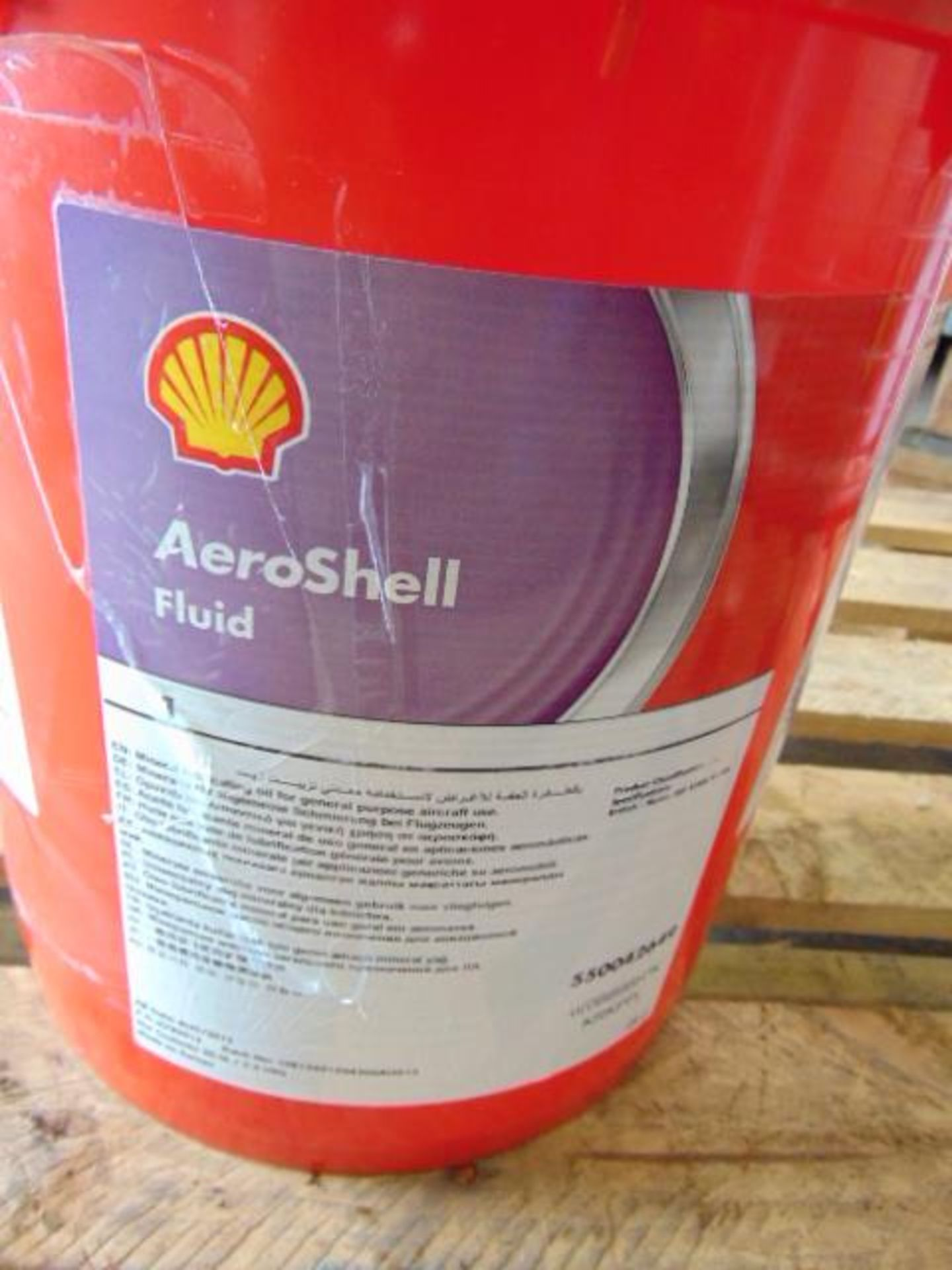 Lot 112 - Qty 1 x 20 Ltr Shell Aeroshell Fluid Direct from Reserve Stores