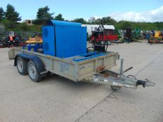 Grundoburst Trailer Mounted 40 ton Pipe Bursting Rig and Hoses