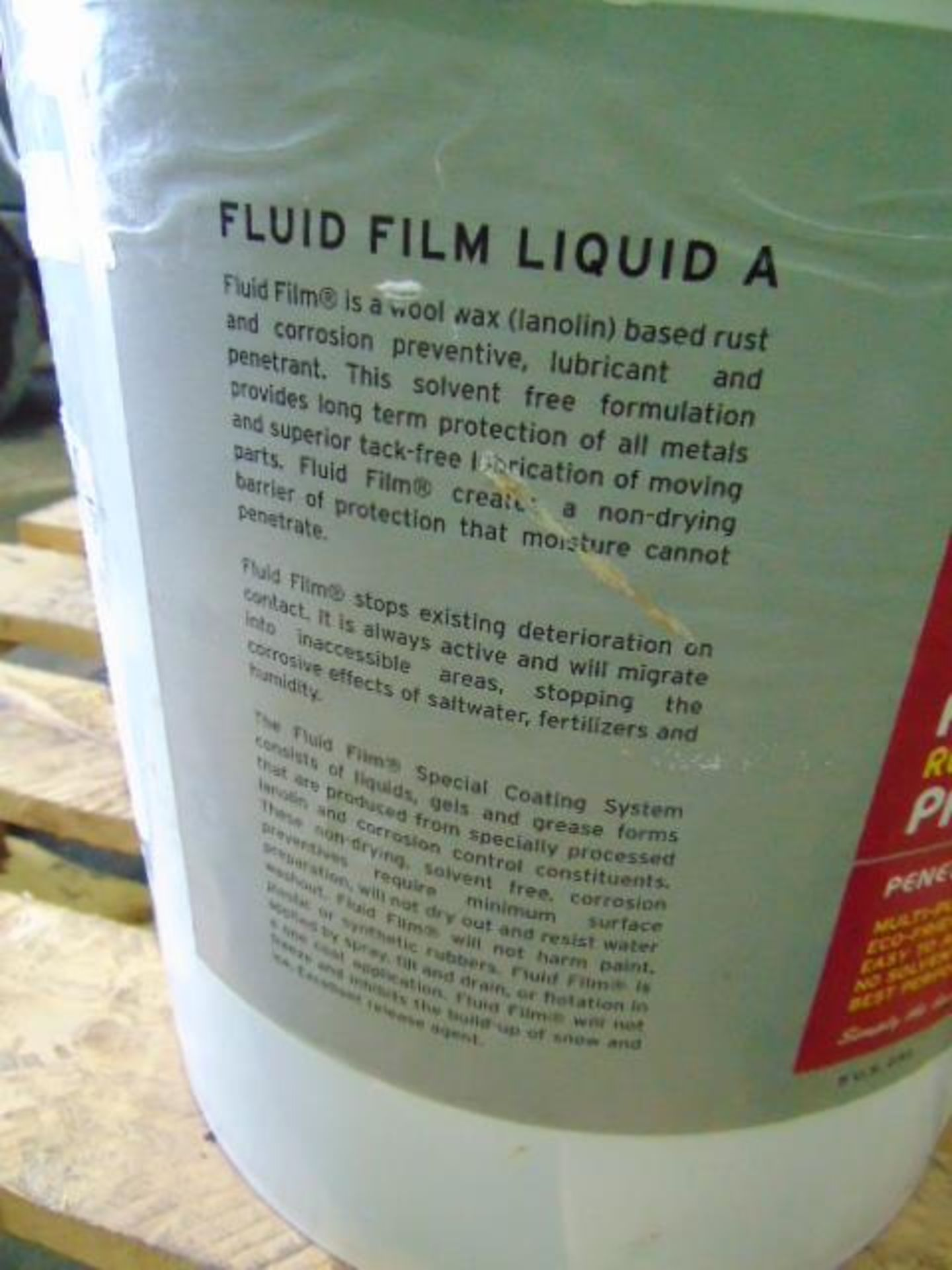 Lot 71 - Qty 1 x 25 Ltr Fluid Film Liquid A direct from reserve stores