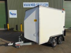 Twin Axle Indispension Box Trailer c/w Dropdown Tailgate / Loading Ramp