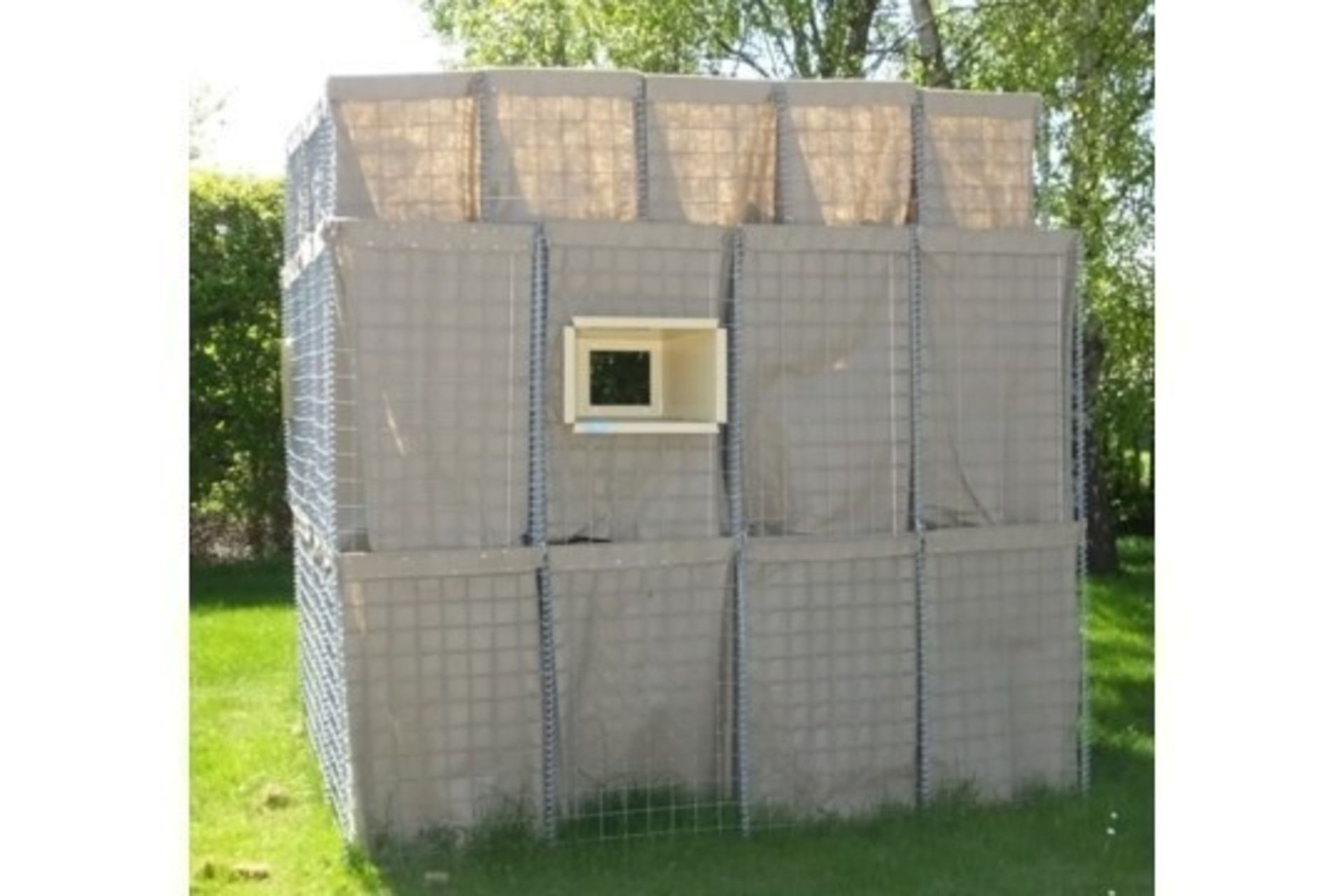 Lot 58 - Hesco Bastion Sangar (Guard Post Kit)