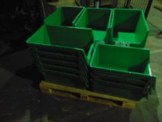 Qty 23 x Schafer Pew W50 Parts Storage Containers