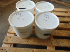 Qty 4 x 10 Ltr Sealfas 30-36 White Direct from Reserve Stores