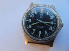 Very Rare Genuine British Army, CWC (Fat Boy/Fat Case) quartz wrist watch