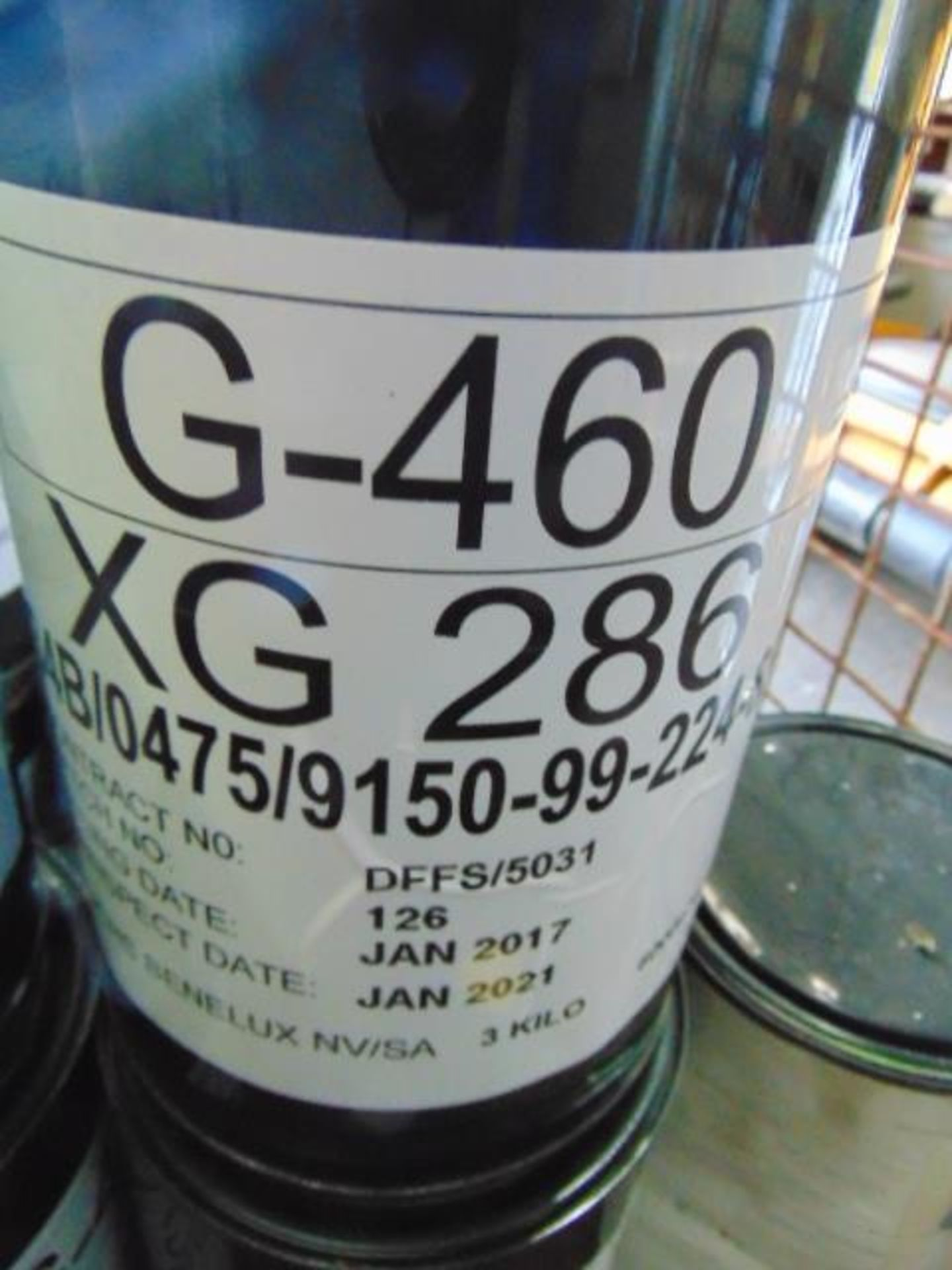 Lot 102 - Qty 16 x 3Kg G460/XG286 Grease direct from reserve stores