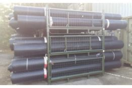 5 x UNISSUED Tensar SS20 Geogrid Ground Foundation Reinforcement Rolls 4m x 75m